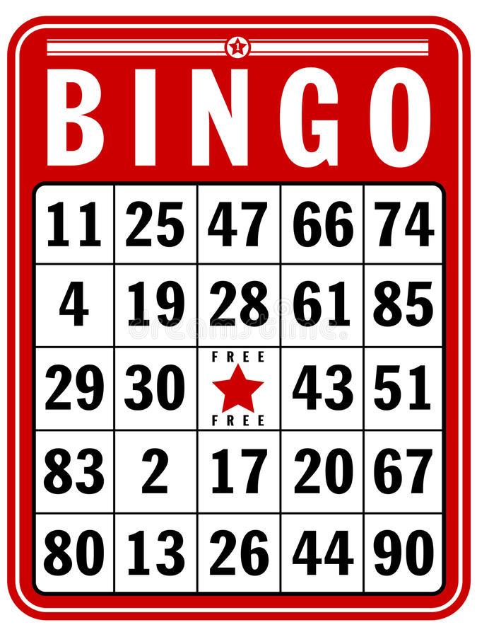 bingo card image